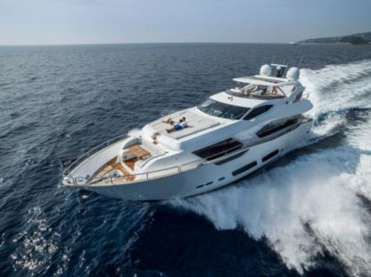 Rental Motor yacht Sunseeker 95 Naples