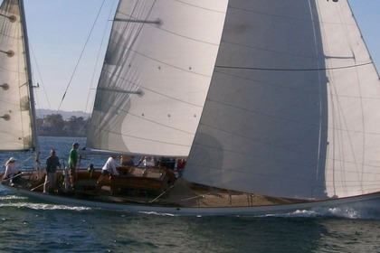 Hire Sailboat Stephens Brothers Yawl 65 San Diego