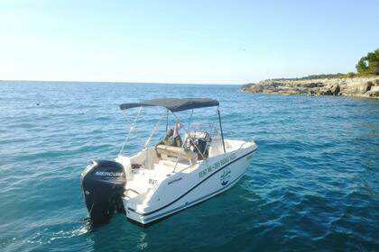 Hire Motorboat Quicksilver Activ 505 Open Pula