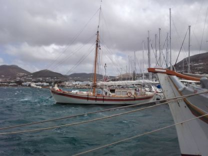 Charter Sailboat Traditional Greek Trechantiri Paros