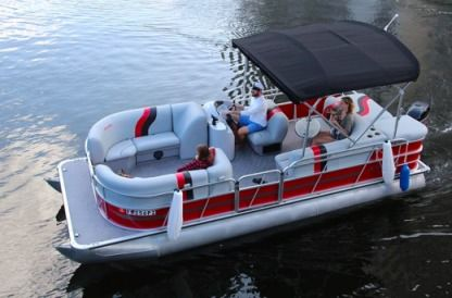 Аренда Моторная яхта Bentley 22' Bentley Pontoon Boat Майами