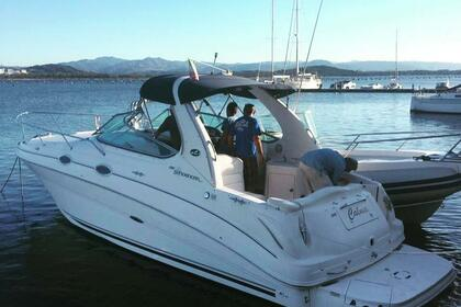 Rental Motorboat Sea Ray 315 Sundancer Loiri Porto San Paolo