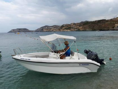 Charter Motorboat Poseidon Blue Water Heraklion