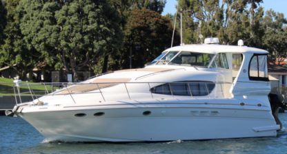 Charter Motorboat Sea Ray 48 Marina del Rey