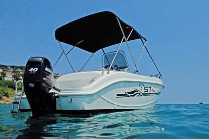 Hire Motorboat TRIMARCHI 57 Balestrate