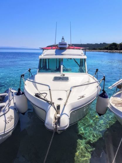 Rental Motorboat Jeanneau Merry Fisher 700 Vela Luka