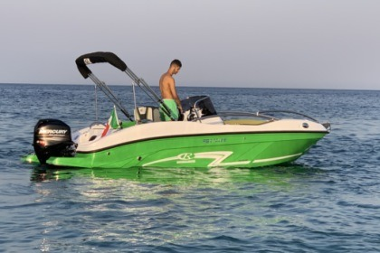 Hire Motorboat Rancraft Rs 5 Tropea