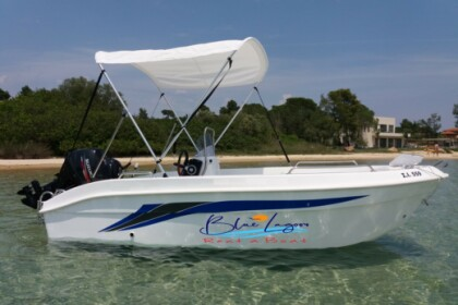 Rental Motorboat BLUELAGOON 44 Vourvourou