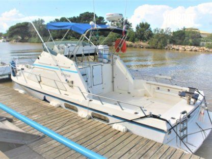 Charter Motorboat Guy Couach 990 Fly Fishing La Rochelle