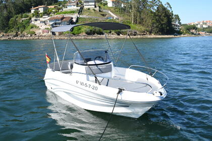 Rental Motorboat AM YACHT LA PINTA Baiona