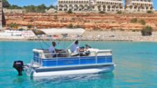 Motorboat Sunchaser Jj 7516 Eu Without Licence - Port Adriano for hire