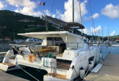 Location Catamaran Fountaine Pajot Lucia 40 Antigua-et-Barbuda