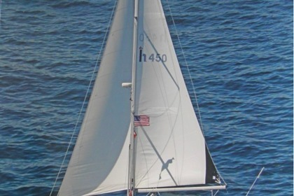 Charter Sailboat Hunter 450 Pompano Beach
