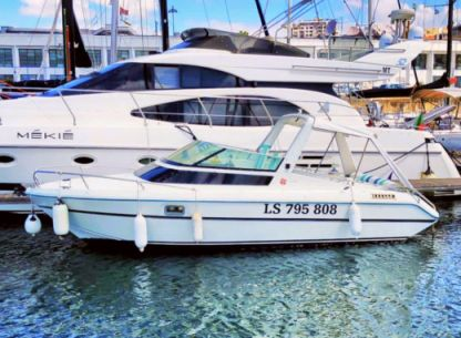Rental Motorboat Jeanneau Leader Lisbon