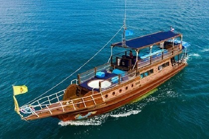 Hire Motorboat Teak Wooden Yacht 68ft Ko Samui District