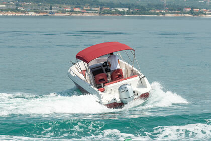 Hire Motorboat Atlantic Marine Open 670 Trogir