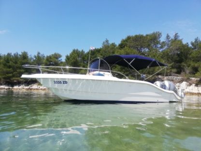 Rental Motorboat Ocean Blue 270 Wa Zadar