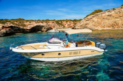 Rental Motorboat Sessa Key Largo 28 Ibiza