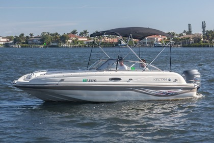 Hire Motorboat Vectra A2302 Delray Beach