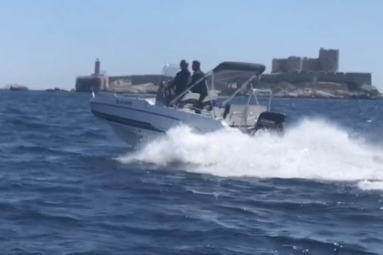 Rental Motorboat Beneteau Flyer 550 Marseille