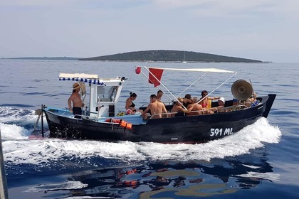 Rental Motorboat Custom Made Croatian Lifeboat Mali Lošinj