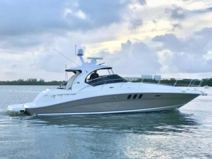 Rental Motorboat Sea Ray Sun Dancer Miami Beach