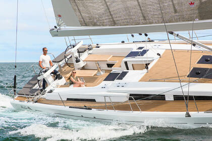 Rental Sailboat HANSE 548 Tortola