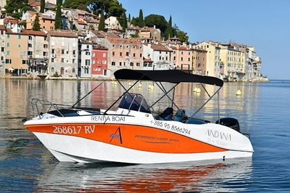 Hire Motorboat Oki Boats Barracuda 545 Rovinj