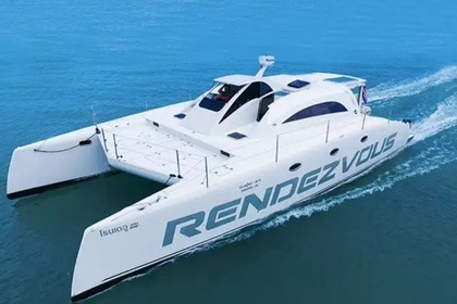 Rental Motorboat Stelth Power catamaran Rendezvous 44ft Mueang Phuket