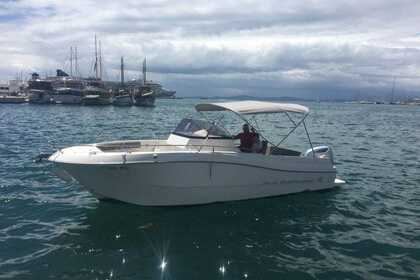 Charter Motorboat Atlantic Marine 750 open Split