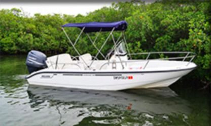 Charter Motorboat Boston Whaler 19 Outrage Key West