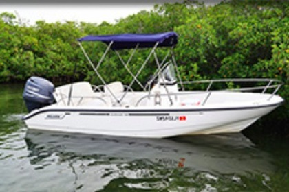 Verhuur Motorboot BOSTON WHALER 19 Outrage Key West