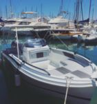 Charter motorboat in Altea