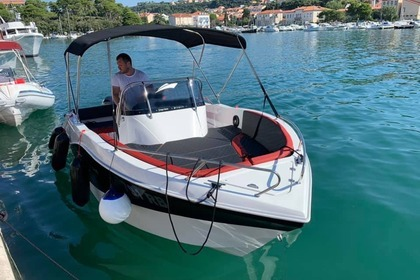 Miete Motorboot Oki Boats Barracuda 545 Rab