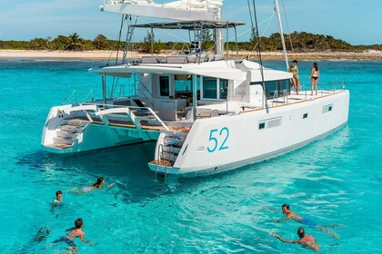 Location Catamaran Lagoon Lagoon 52 F with watermaker & A/C - PLUS Saint Thomas