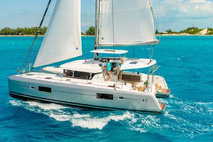 Location Catamaran Lagoon Catamarans Lagoon 42 with watermaker & A/C - PLUS Saint Thomas