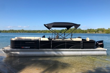 Hire Motorboat Pontoon 28 Miami