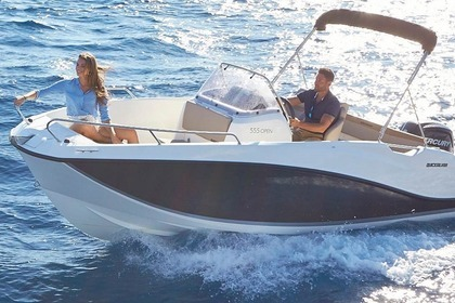 Hire Motorboat QUICKSILVER 555 activ open Povlja