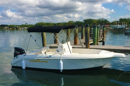 Rental Motorboat Pro Line Center Console Sport Fish 20' North Port