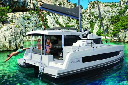 Hire Catamaran Bali Bali Catspace with watermaker Göcek