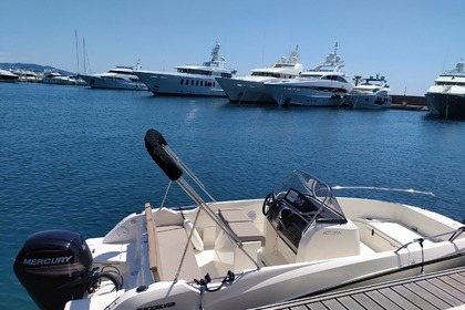 Hire Motorboat Quicksilver Quicksilver 0pen 605 Mandelieu-La Napoule