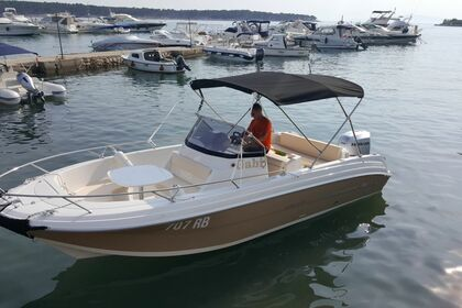 Miete Motorboot Atlantic 670 Open Rab