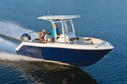 Charter Motorboat Robalo 28 Galveston