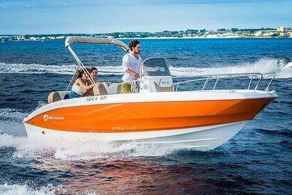 Charter Motorboat Idea Marine 58 Verbania