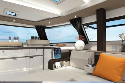 Charter Catamaran Fontaine Pajot New 45 with watermaker & A/C - PLUS Tortola