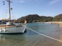 Traditional Wooden Sailboat in Agios Nikolaos for hire