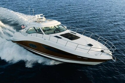 Rental Motorboat Sea Ray Sundancer 60 Saint Thomas