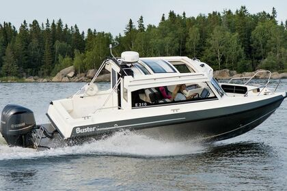 Charter Motorboat Buster Cabin Raisio