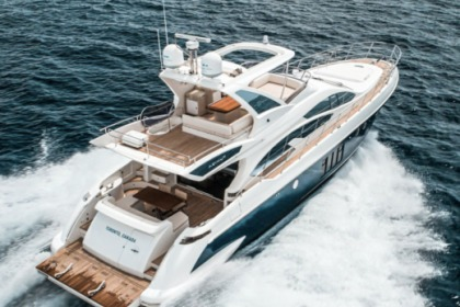 Miete Motorboot AZIMUT 64 FLYBRIDGE Miami