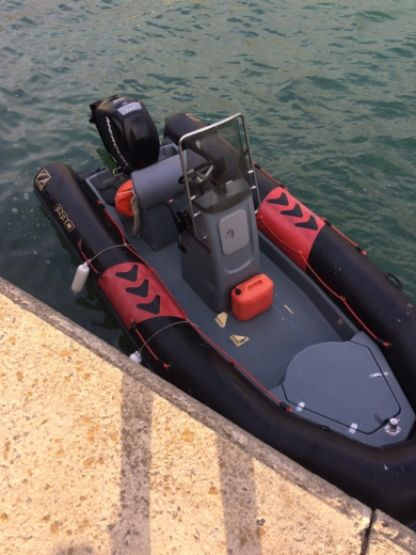 Location Semi-rigide Zodiac Open Pro 550 Larmor-Baden